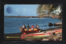 Phonecard Telephone card D19 St.Kitts  #262